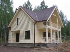каркасно щитовые дома