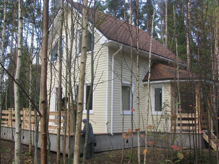 строительство каркасных домов под