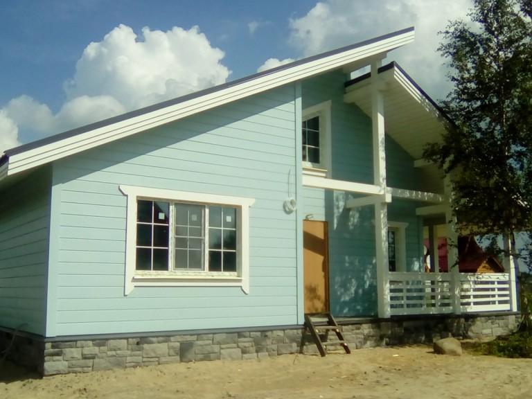 загородный дом +в стиле шале
