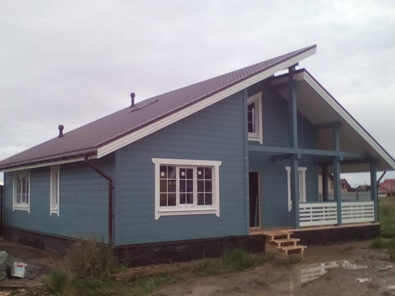 Дом +в стиле шале фото
