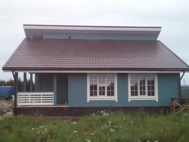 Дом +в стиле шали