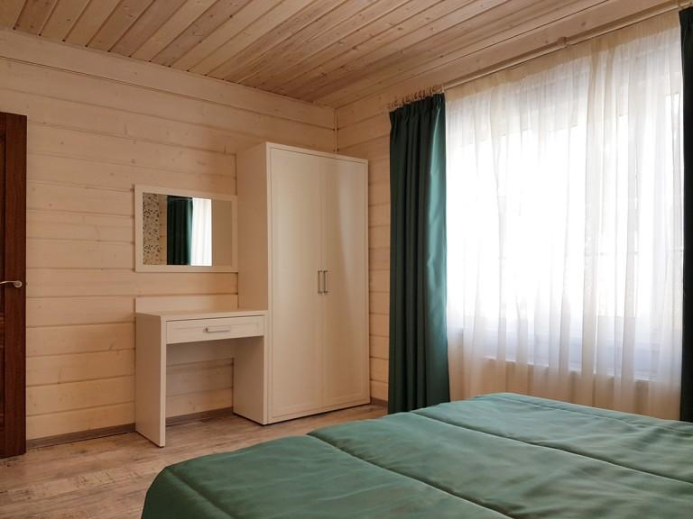 спальня +в стиле шале фото
