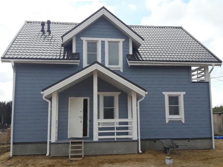 Каркасный дом для постоянного проживания Гранит-3