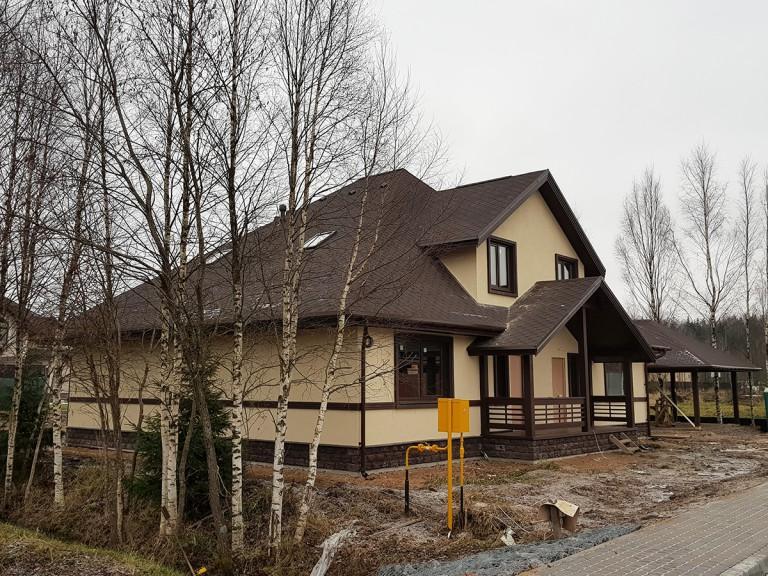 Загородный дом в деревне Юкки