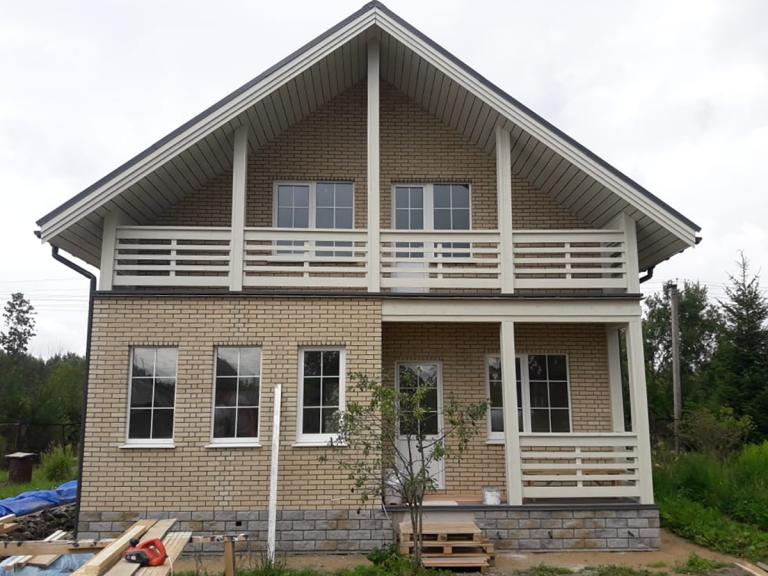 Каркасный дом Вырица-2 Хаус Маркет