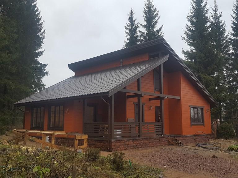 Строительство загородных домов под ключ Соколинское