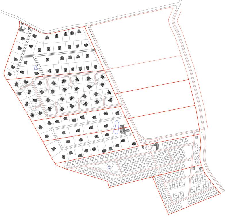 Схема поселка Орлинка
