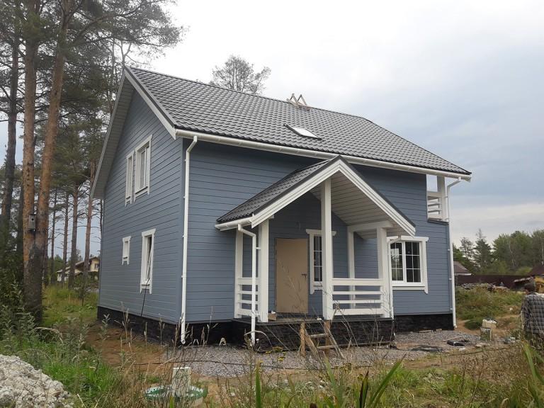 Ульяновка каркасный дом