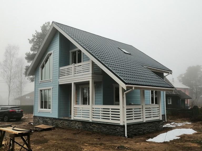 Каркасный дом Светлое
