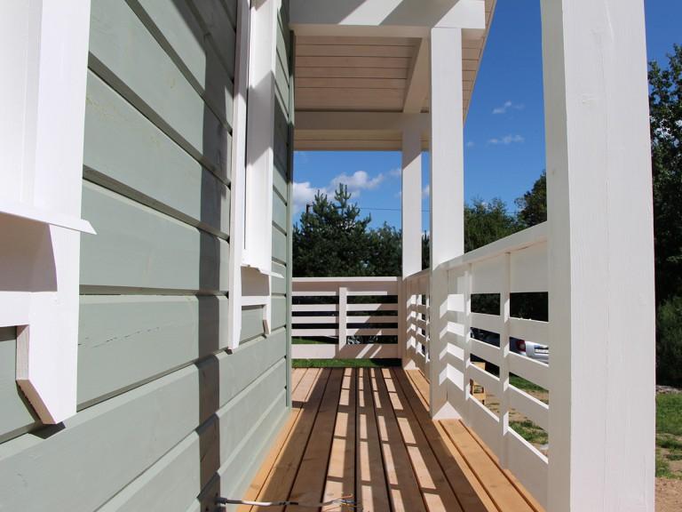 Балкон шале
