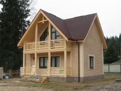 каркасный дом Дибуны
