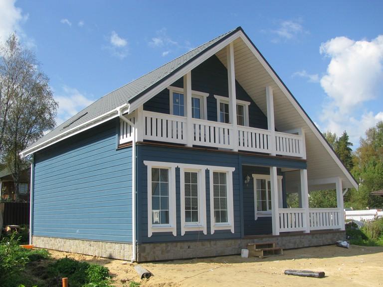 каркасные дома +для проживания