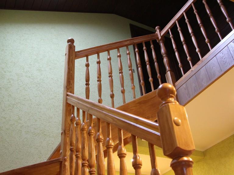 лестница +в стиле шале