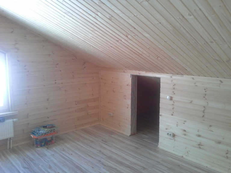 Каркасный дом в поселке Новые Ольшаники