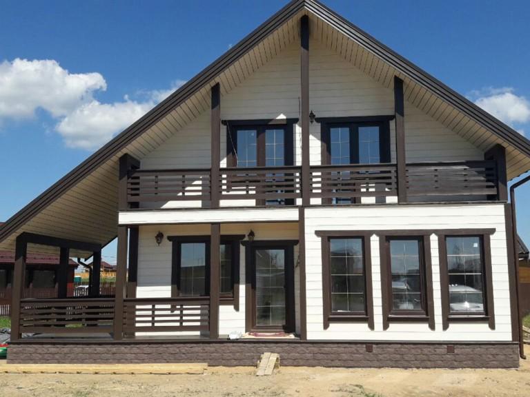 Каркасные дома Дятлицы