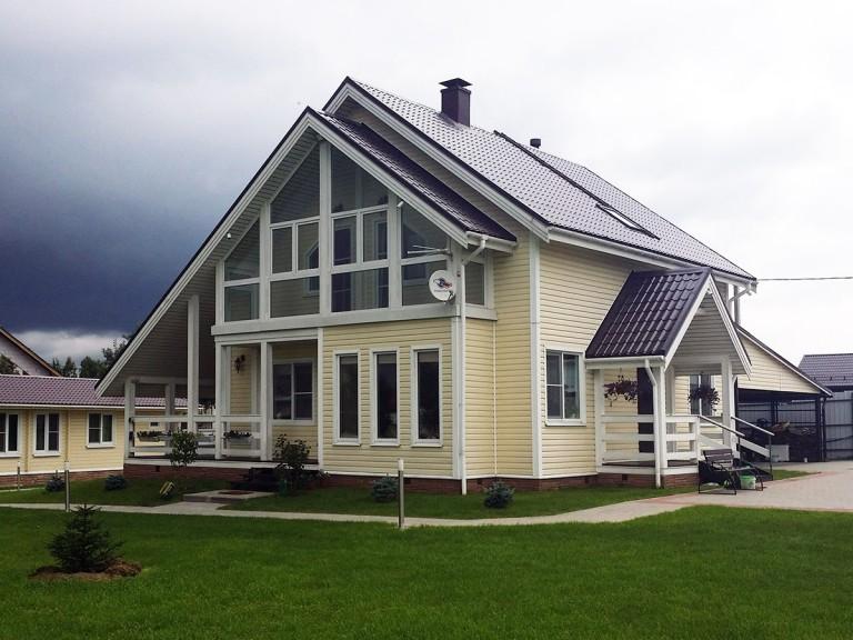Проект каркасного дома в Янино