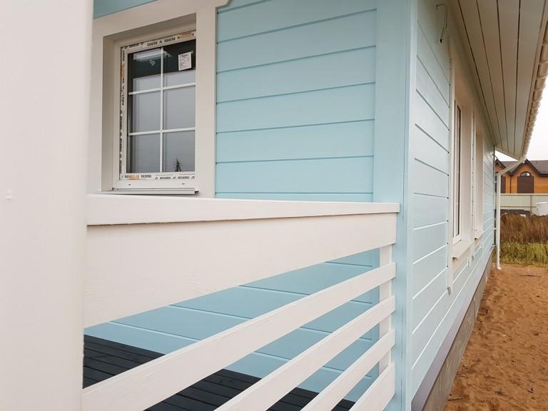 Аннино каркасный дом шале стиль