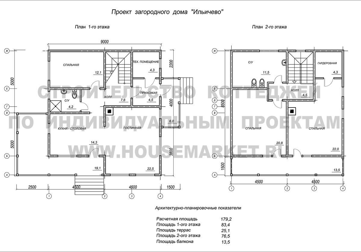 Ильичево планировка ХаусМаркет