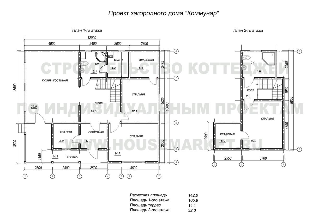 Коммунар планировка Хаус Маркет