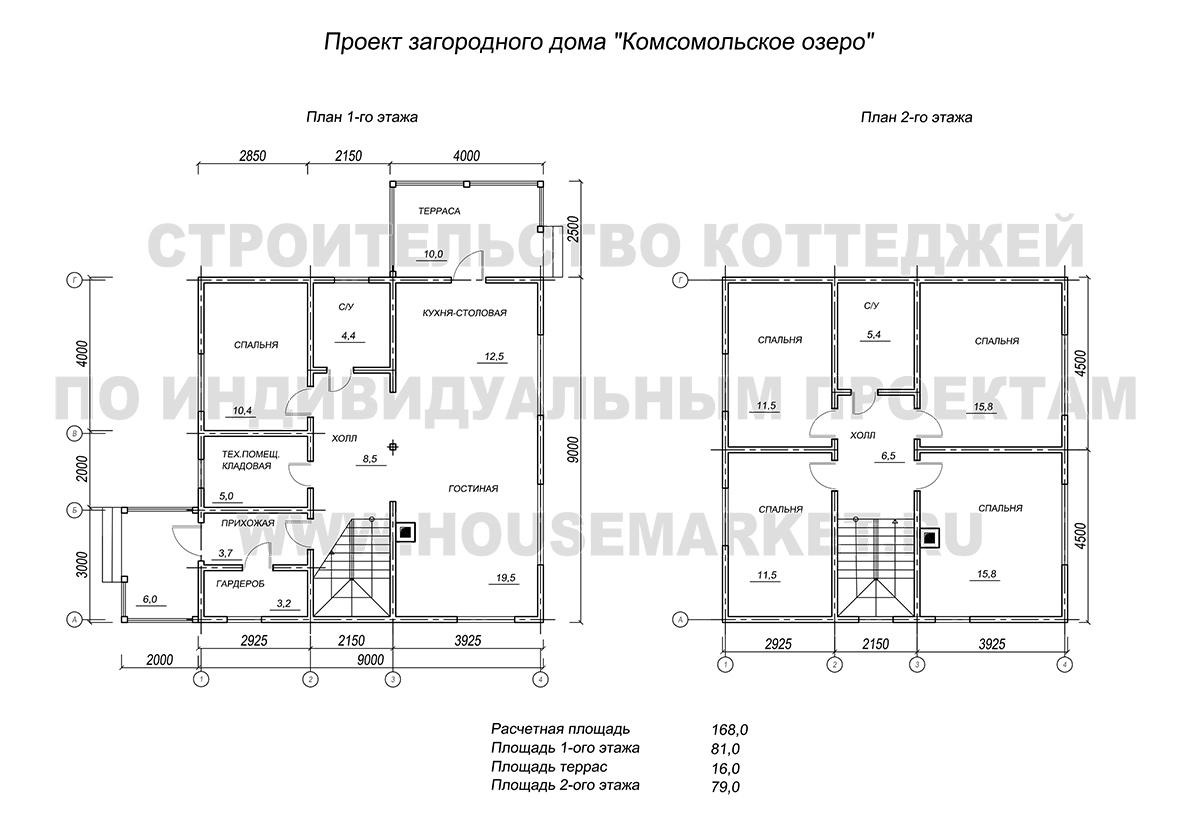 Комсомольское озеро планировка ХаусМаркет