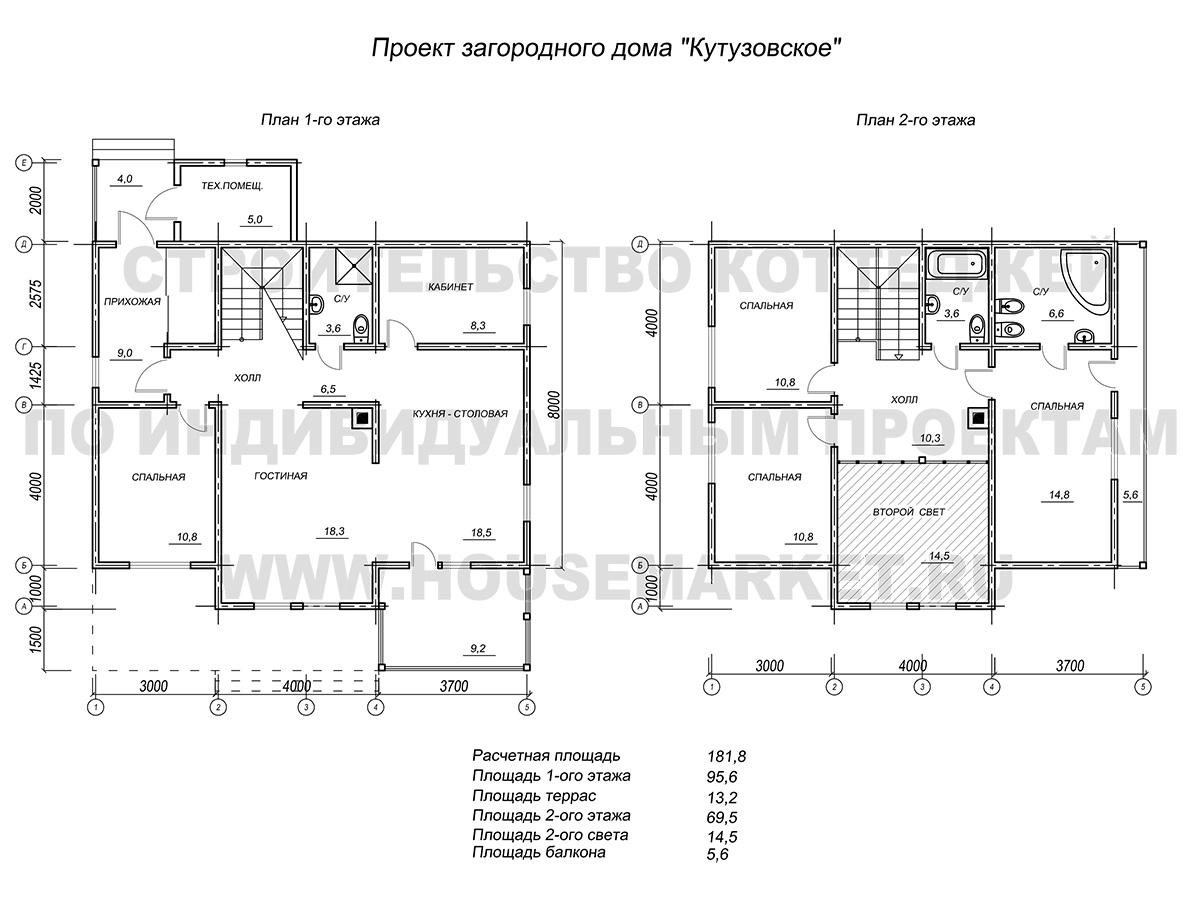 Кутузовское планировка ХаусМаркет