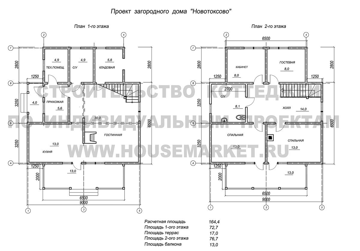 Ново Токсово Хаус Маркет планировка