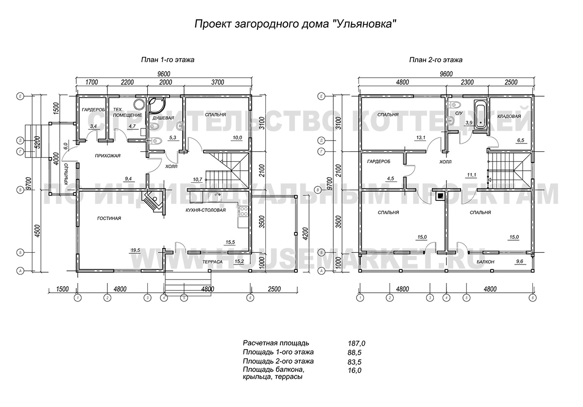 Ульяновка каркасный дом планировка