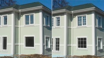 Как влияет расстекловка окон на общий вид дома